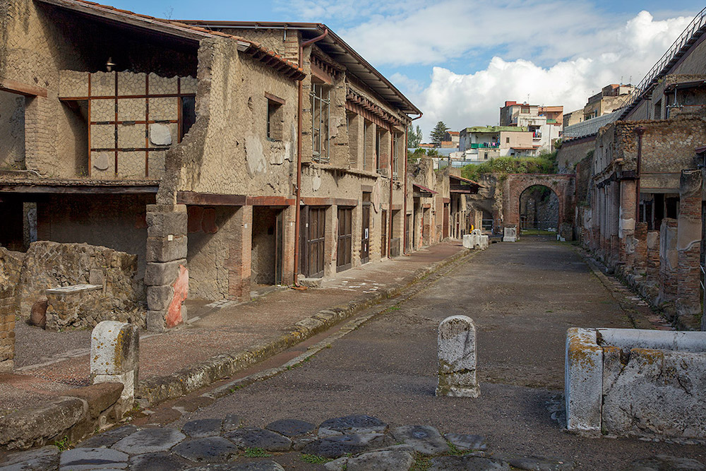 House of the Bicentenary in Herculaneum
